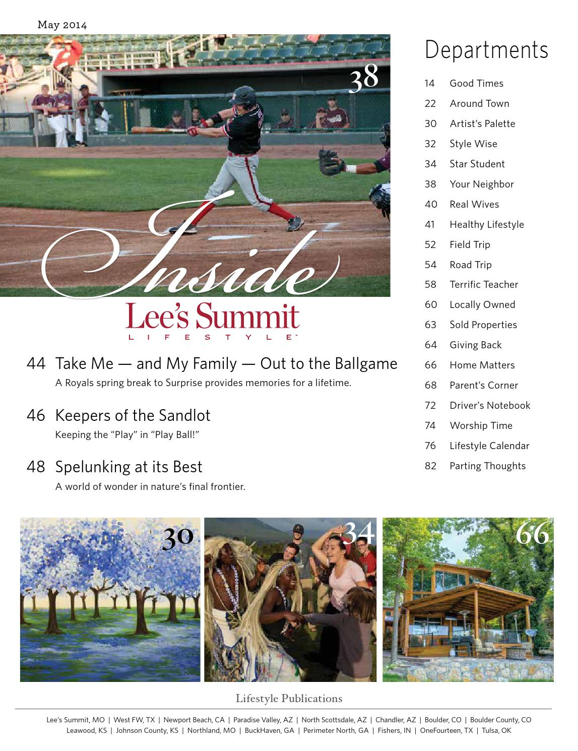 Lee's Summit Lifestyle May 2014Lifestyle Publications throughout Lees Sumit North Spring Break