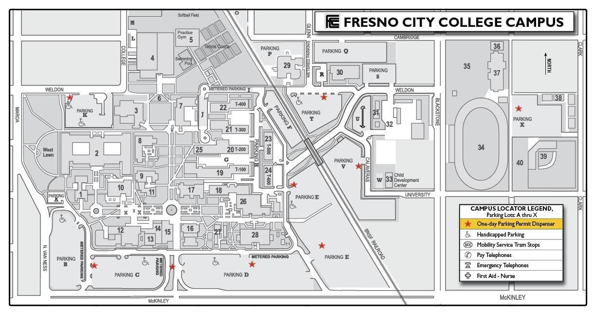 Parking Permits And Parking Tickets | Fresno City College For Fresno City College Academic Calendar