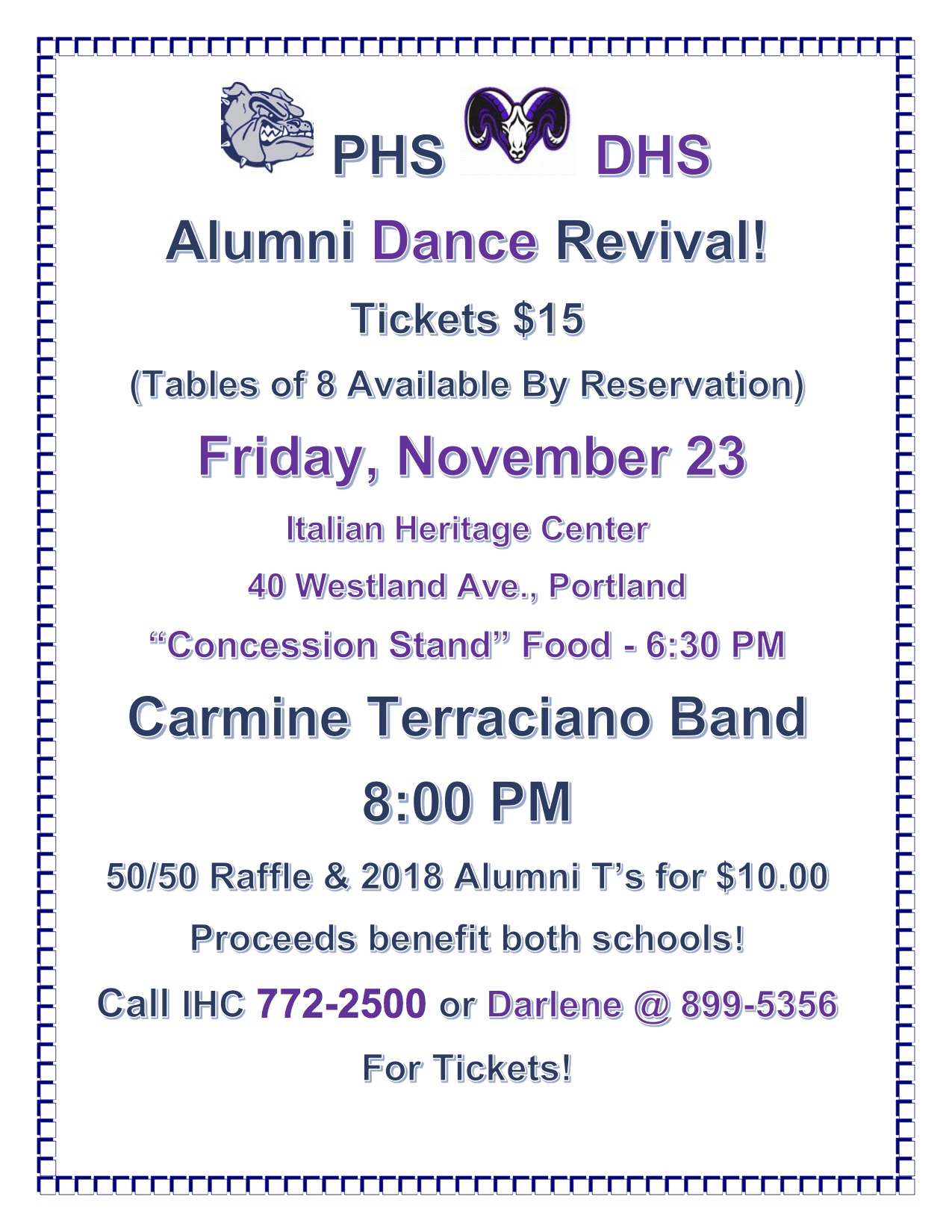 Phs, Dhs Traditions: Game And Alumni Dance – Portland Public Regarding University Of Southern Maine Academic Calendar 2021