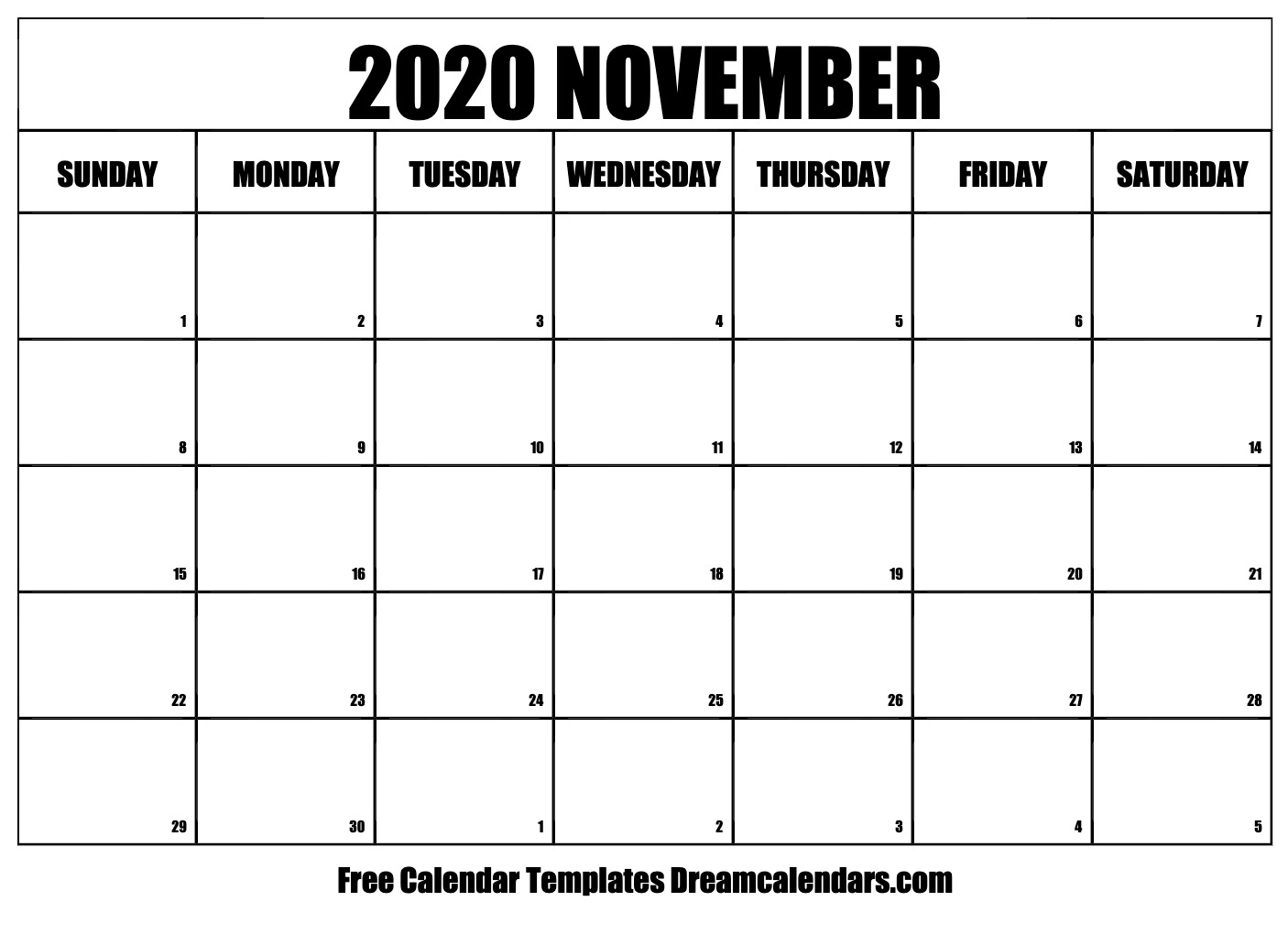 Printable November 2020 Calendar With The Walking Dead Calendar Template
