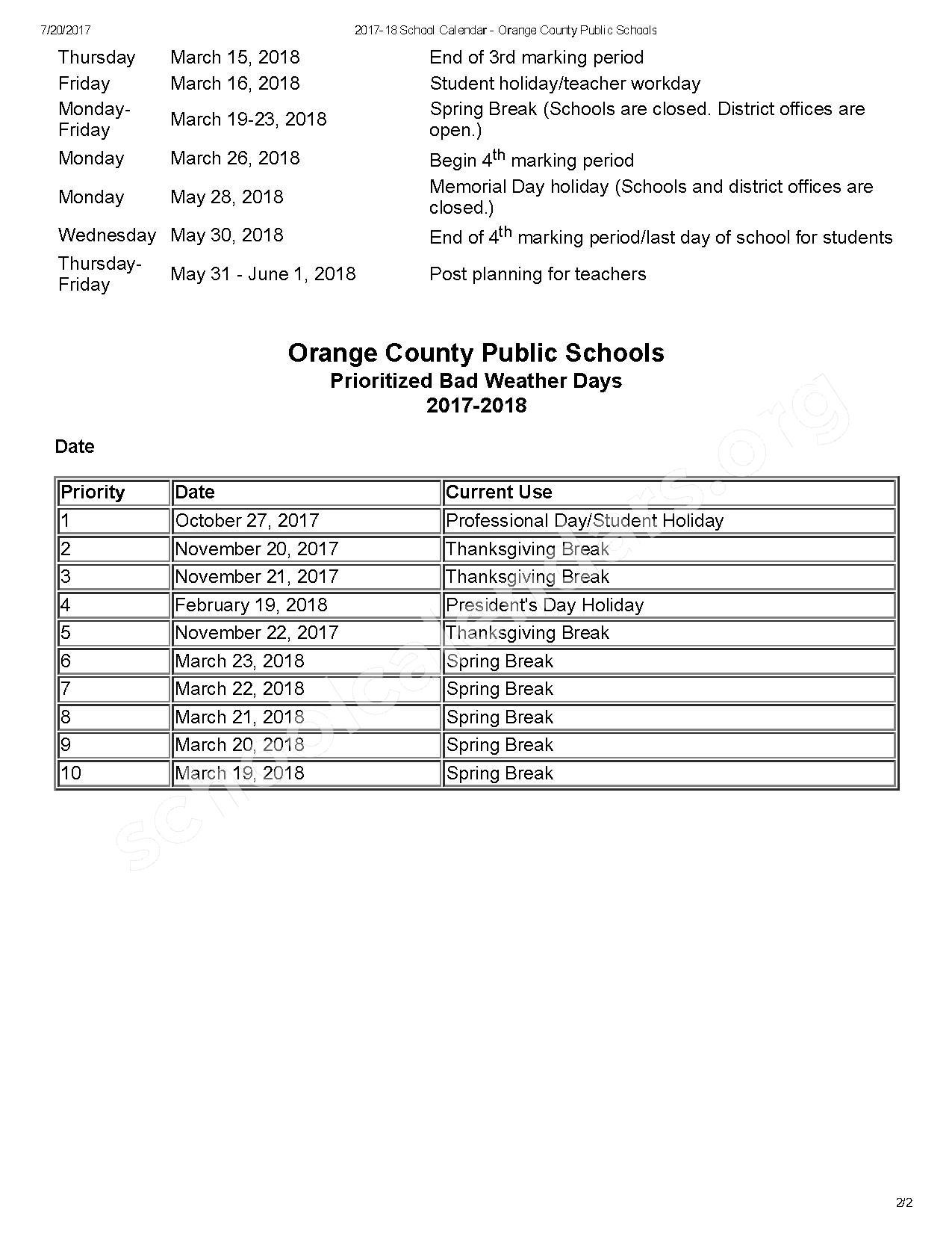 Shenandoah Elementary School Calendars – Orlando, Fl In Shenandoah County Public Schools Calendar