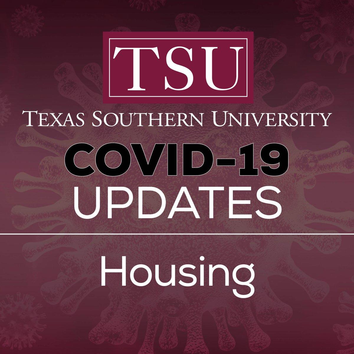 "Texas Southern University On Twitter: ""#txsu Covid 19 Update Inside Texas Southern Spring Break"