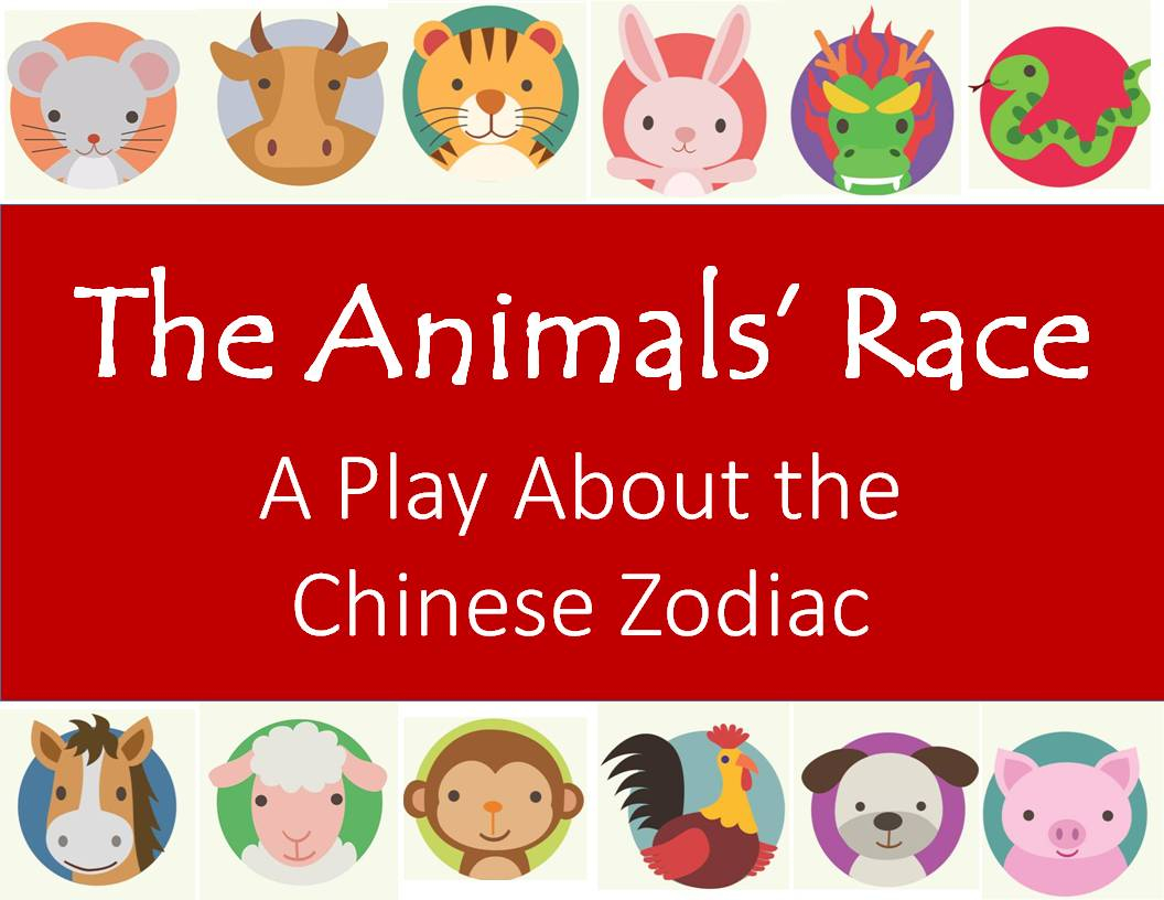 The Animals' Race: A Play About The Chinese Zodiac | Holidappy Within Printable Chinese Calendar Shwing Year Of Different Animals