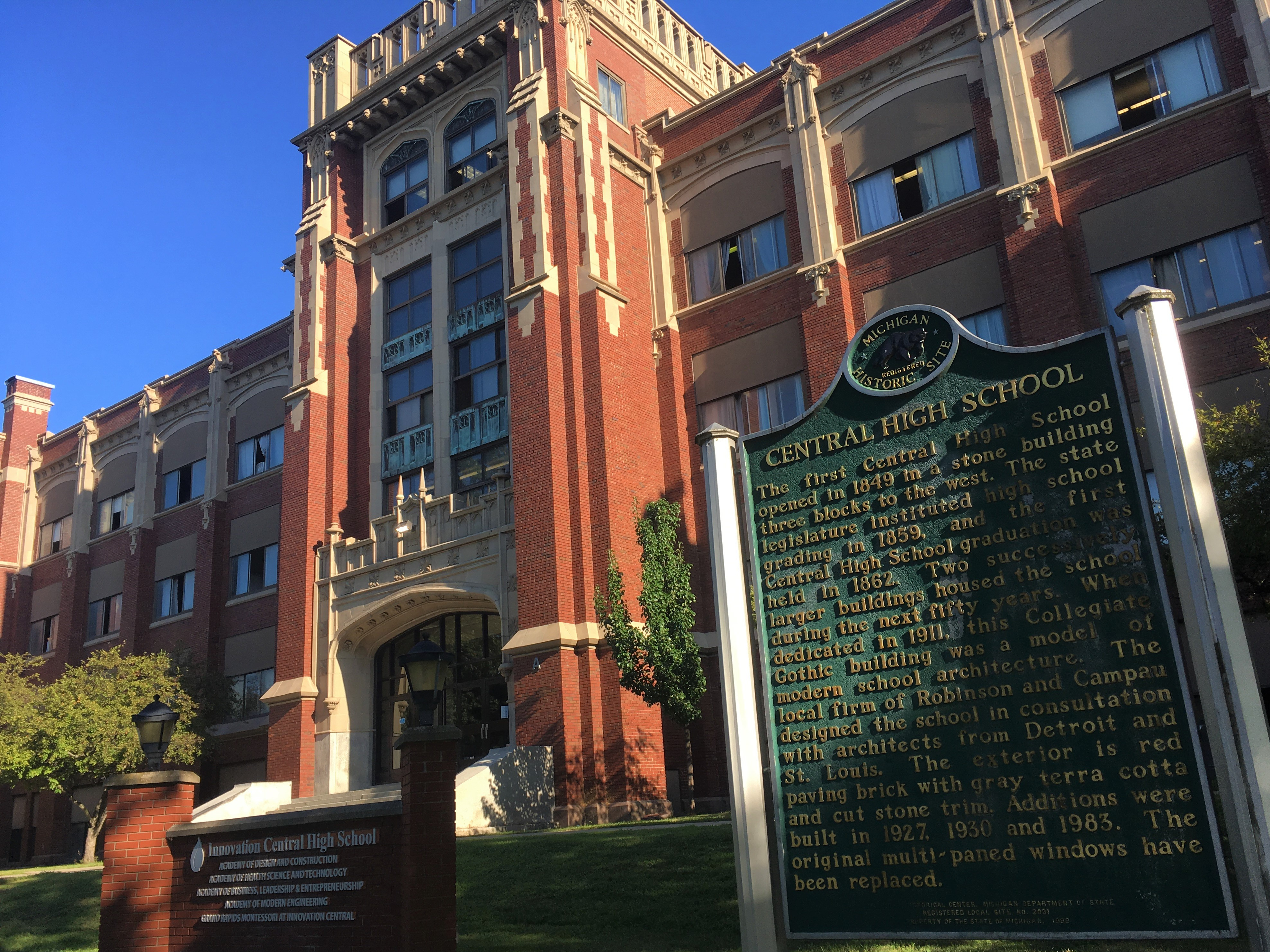 The Forgotten History Of How A Grand Rapids High School For Grand Rapids High School Calendar
