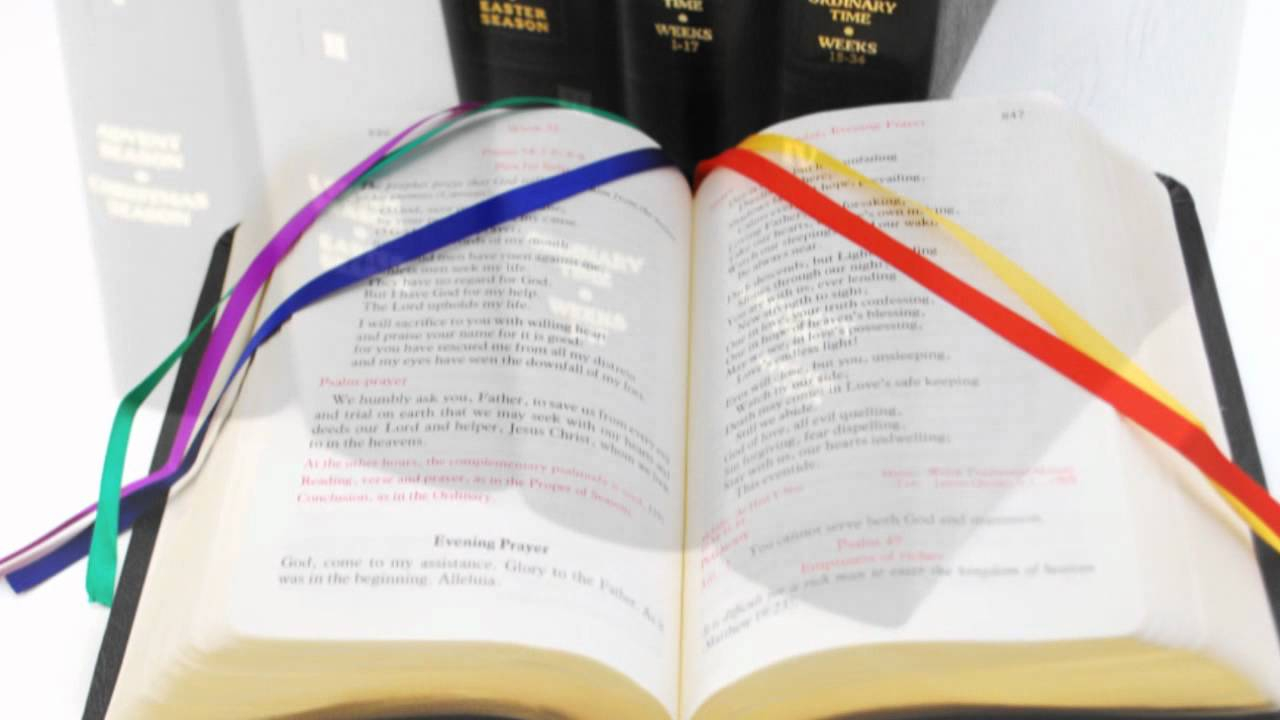 The Liturgy Of The Hours - Set Of 4 Volumes pertaining to Liturgy Of The Hours Printable