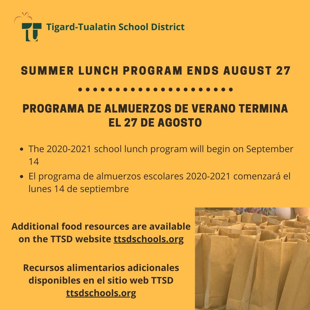 Tigard Tualatin Sd (@tigardtualsd) | Twitter With Regard To Tigard Tualatin School Calendar 2021