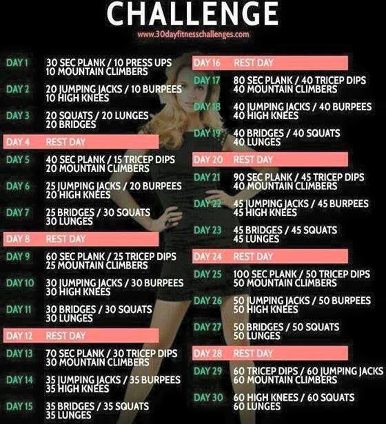 15 Best 30 Day Challenge  Men Images On Pinterest | 30 Day Within Pinterest 30 Day Thigh Slimming Challenge