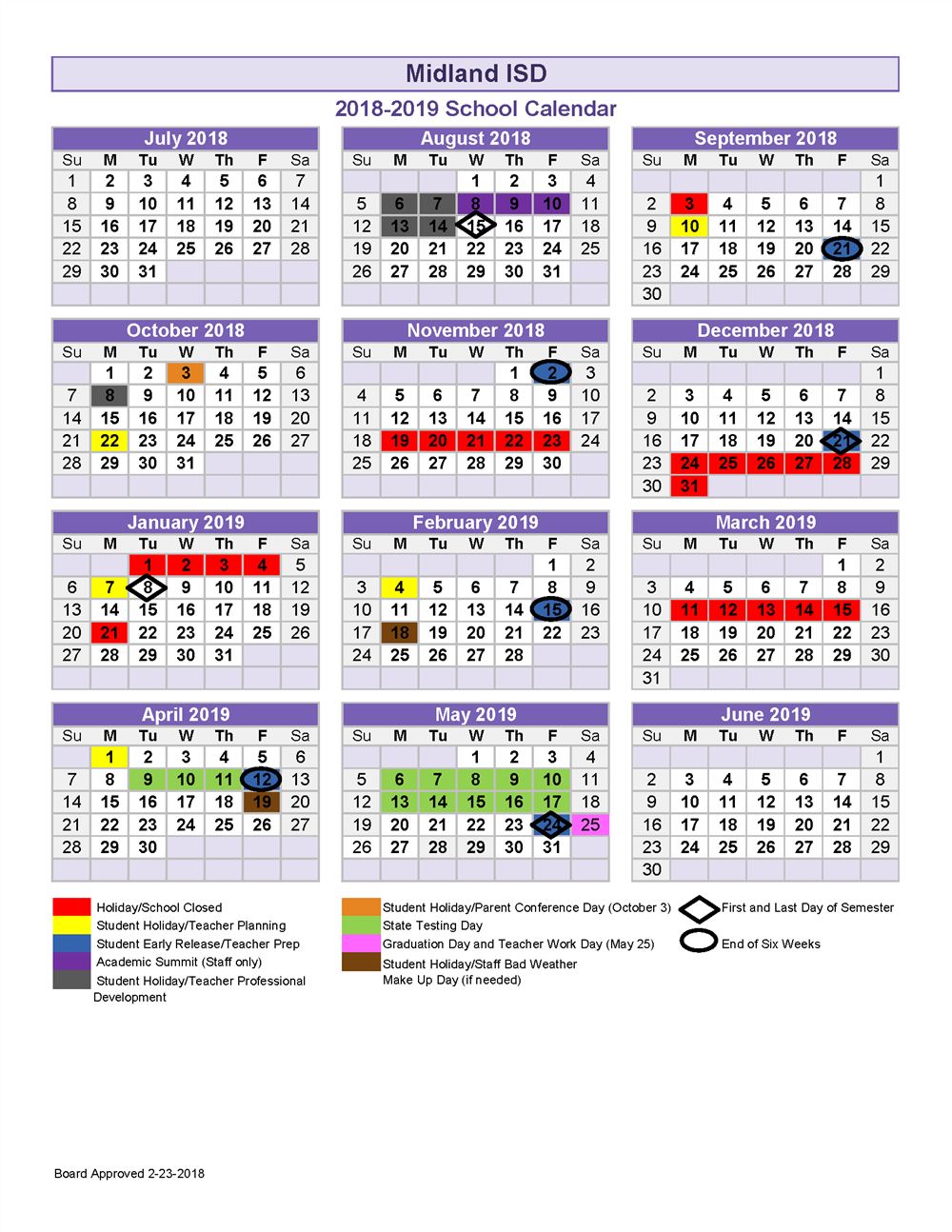 2018 19 School Calendar Pertaining To Academic Year University Of Rhode Calendar