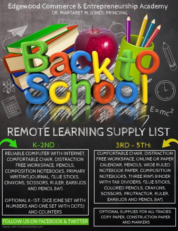 2020 - 2021 School Supply List With Regard To Kingston City School District Calemdar 2020