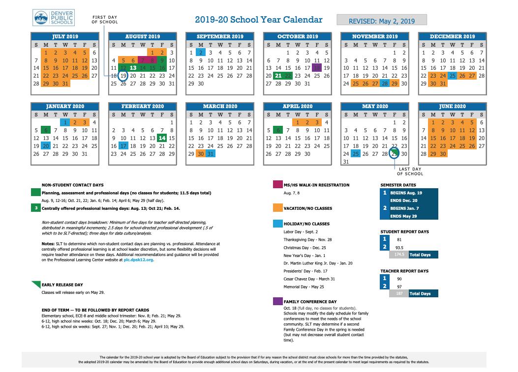 2020 Modified Traditional Instructional Calendar 2020 Lodi For Durham Public Schools Calendar