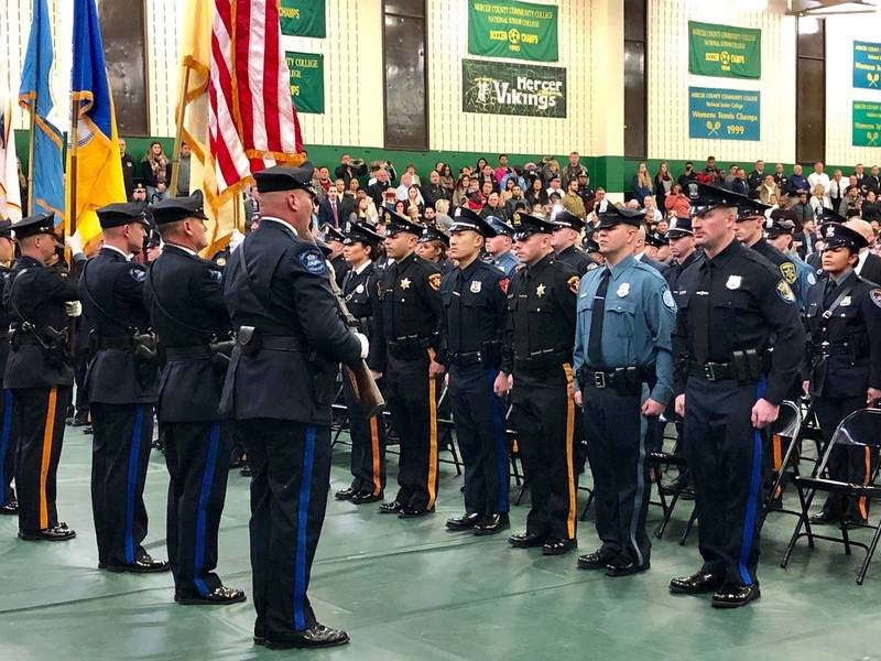 20Th Class Graduates From Mercer County Police Academy Pertaining To Hillsborough Community College Academic Calendar