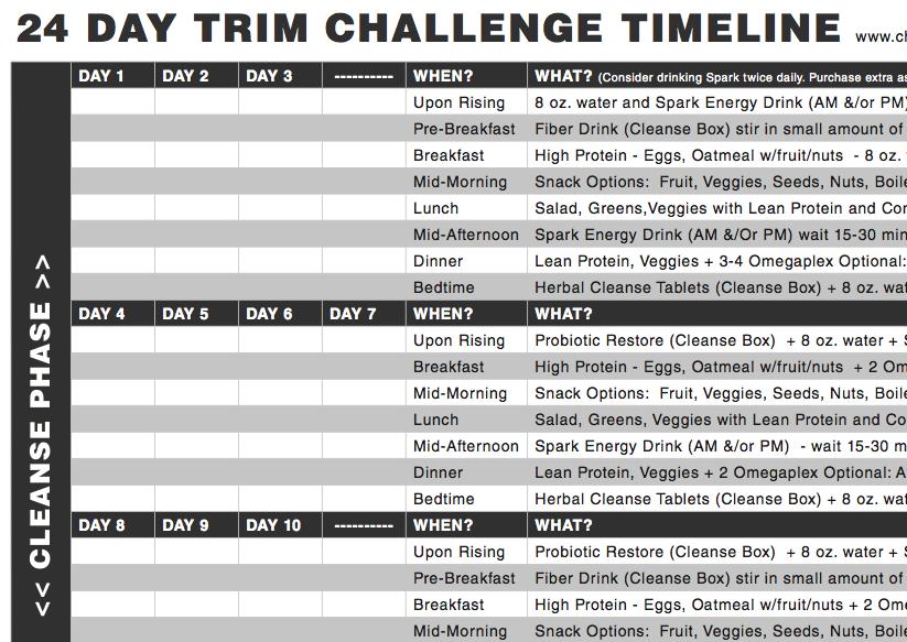 24 Day Challenge Timeline   Advocare 24 Day Challenge, 24 With Advocare 24 Day Challenge Printables