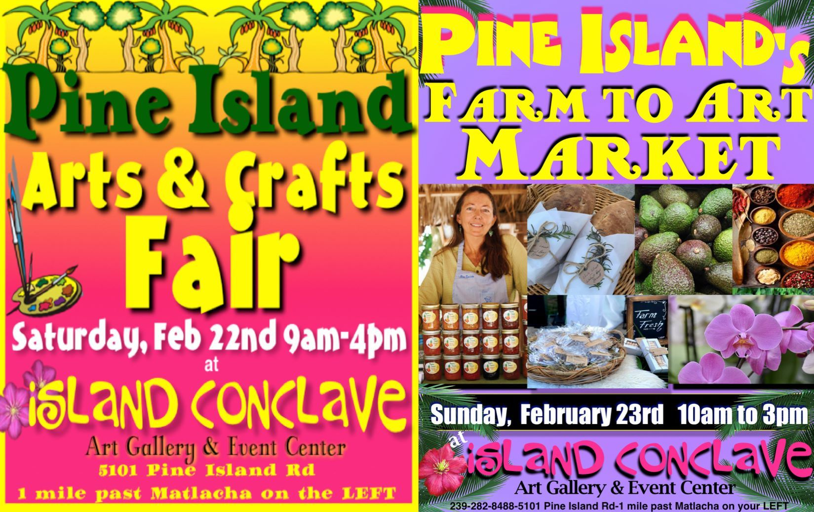 3 Events! Saturday Is The Pine Island Arts & Crafts Fair W Pertaining To South Florida Fairgrounds Event Schedule February 2020