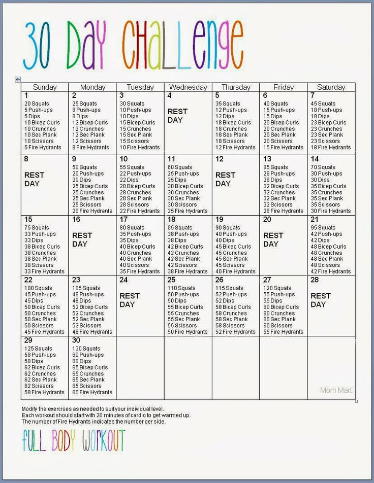 30 Day Challenge (Beginner Friendly)   Daraenicole With Printable 30 Day Ab Challenge