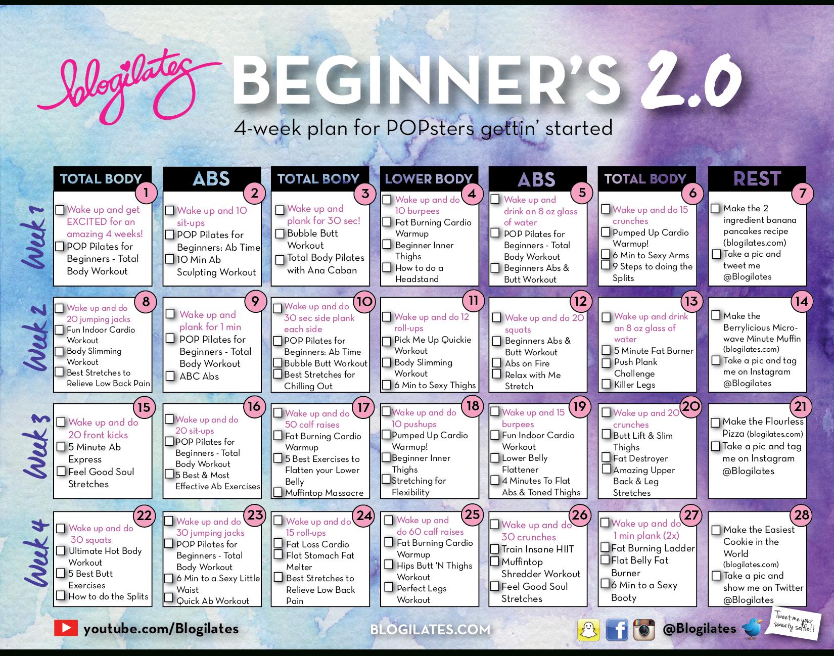 30 Day Flat Abs Challenge Calendar | Printable Calendar throughout 30 Days Abs Challenge Calendar