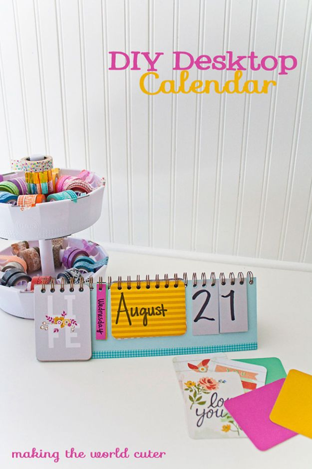 33 Diy Calendars To Start The New Year Off Right In How To Create Countdown 2 Year Calendar Starting In April