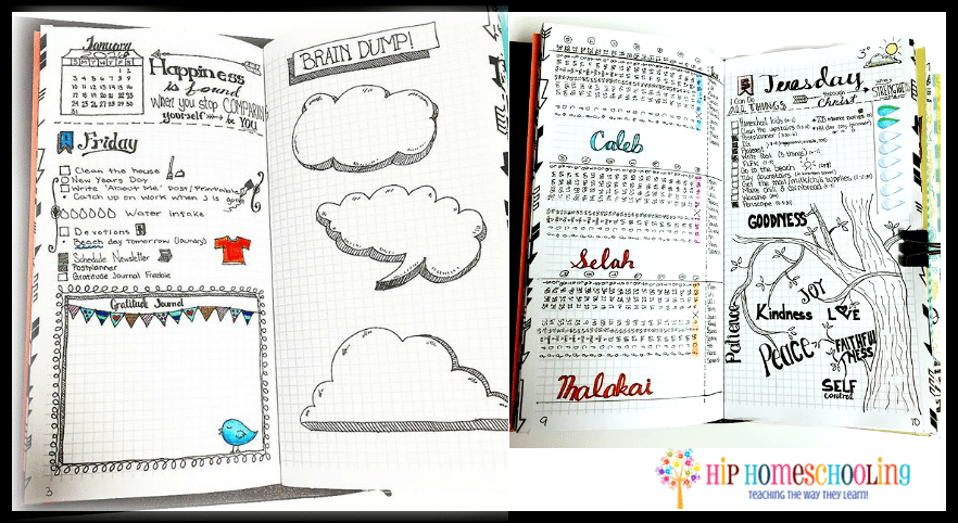 5 Reasons I Bullet Journal (And Why You'Ll Want To Too!) With Sample Year Round School Calendar