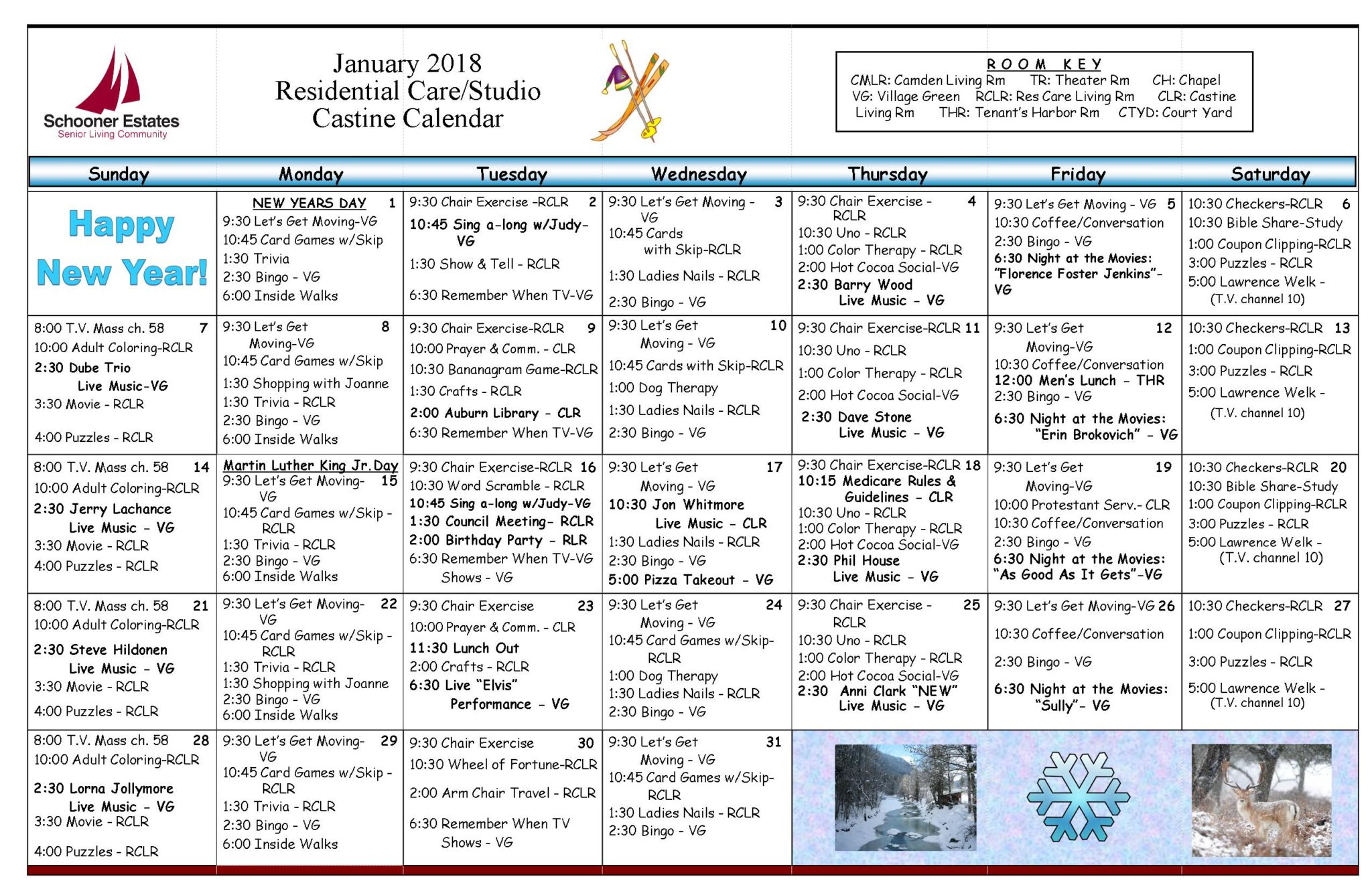 Activity Calendars Pertaining To Assisted Living Activities Calendar Ideas