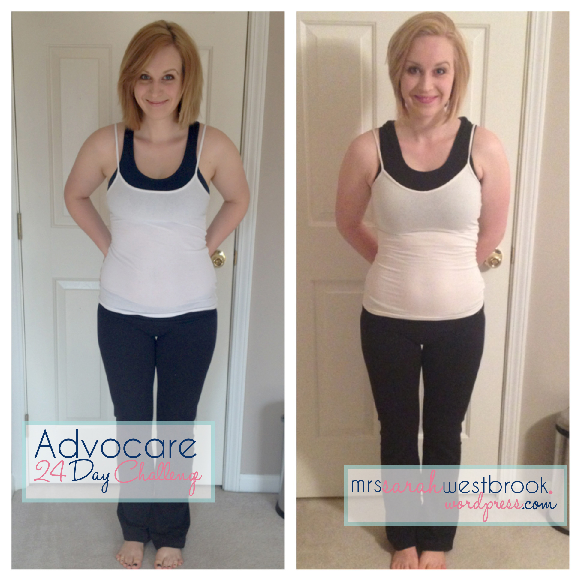 Advocare 24 Day Challenge Before And After Pictures Inside Advocare 24 Day Challenge Editable