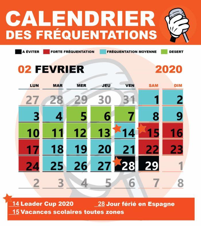 Affluence À Disneyland Paris : Le Calendrier Pour Une in Disneyland Paris 2020 Calendar