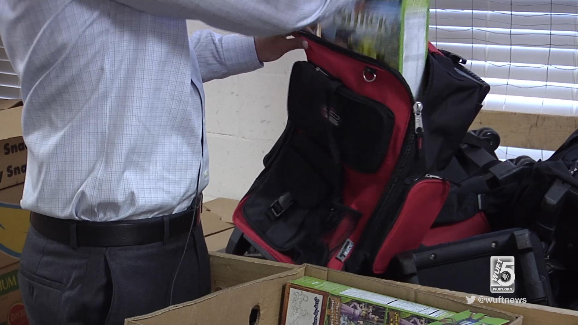 Alachua County Schools Send Home Food Backpacks Over In Alachua County Public School Spring Break