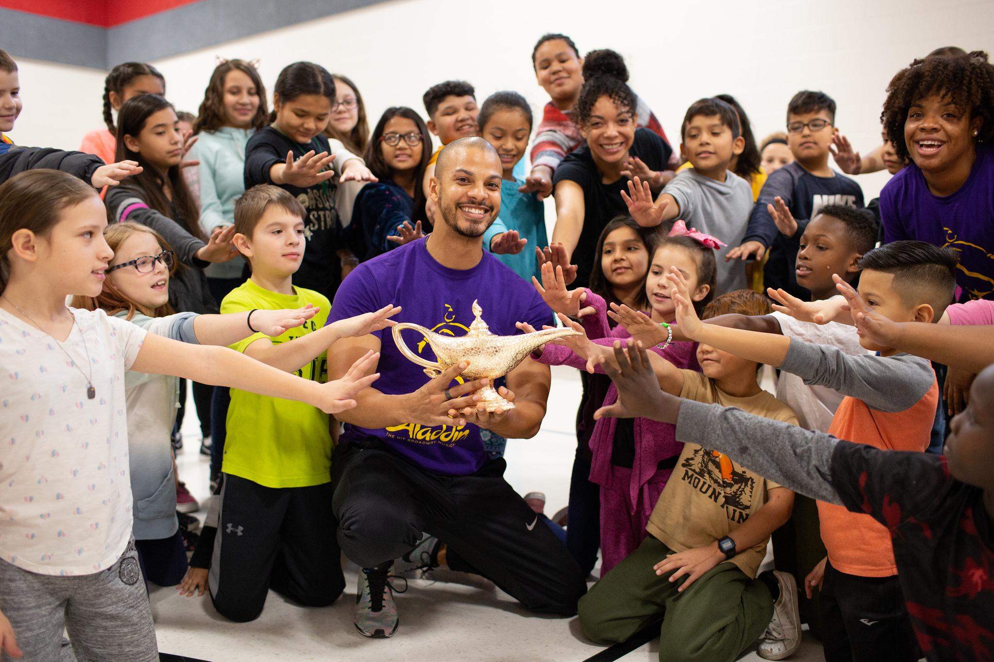Aladdin Cast Makes Magic At Madison Elementary School Inside Des Moines Public Schools Calendar