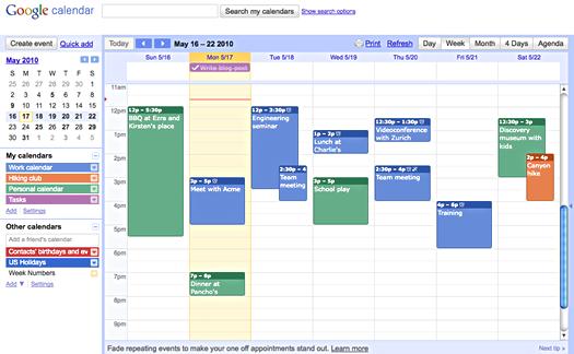 "Amorphous Eclectic | ""Sometimes The Questions Are Regarding Put Google Calendar On Desktop"