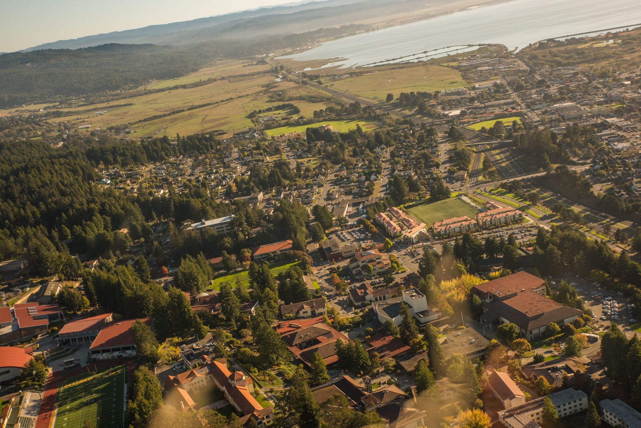 An Aerial Shot Of Campus. | Humboldt State University Pertaining To Humboldt State Universityacademic Calendar