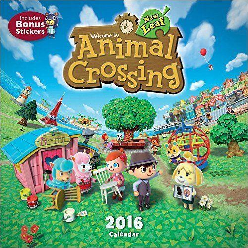 Animal Crossing 2016 Wall Calendar: Nintendo In Animal Crossing New Leaf Calendar
