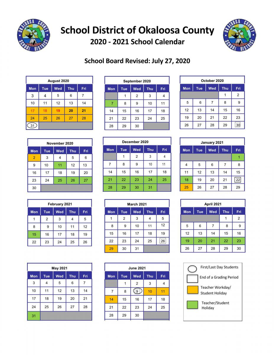 Antioch Elementary School In Dorchester County District 2 2020 2021 School Calendar