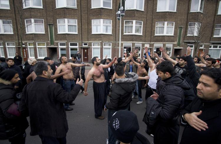 Ashura In The United Kingdom In The Beginning Of The Muslim Calendar Is The Western Year