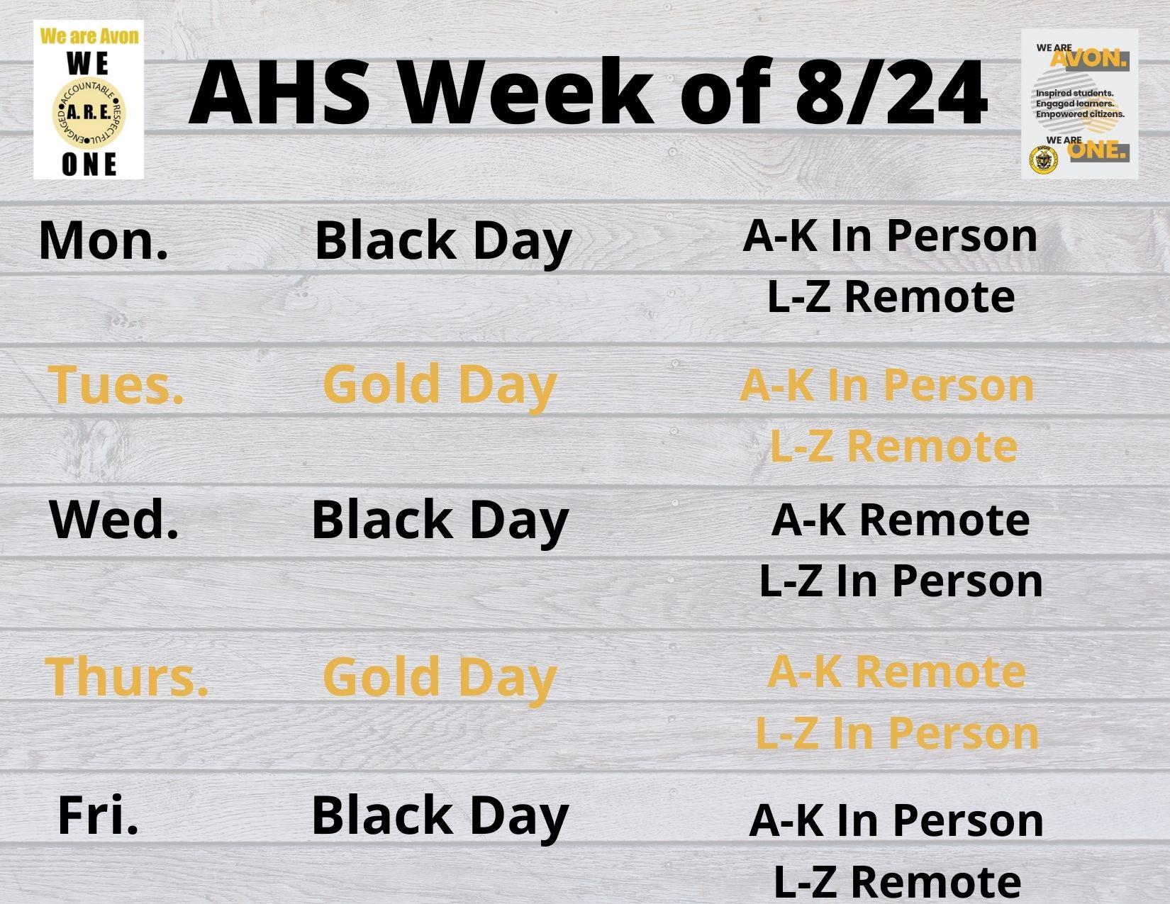 Avon High School Regarding Franklin Central High School Calendar 2020
