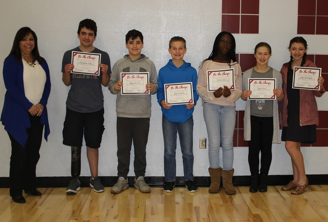 Bcms Students Selected For Be The Change Award » Lee'S In Lee'S Summit High School Calendar 2021