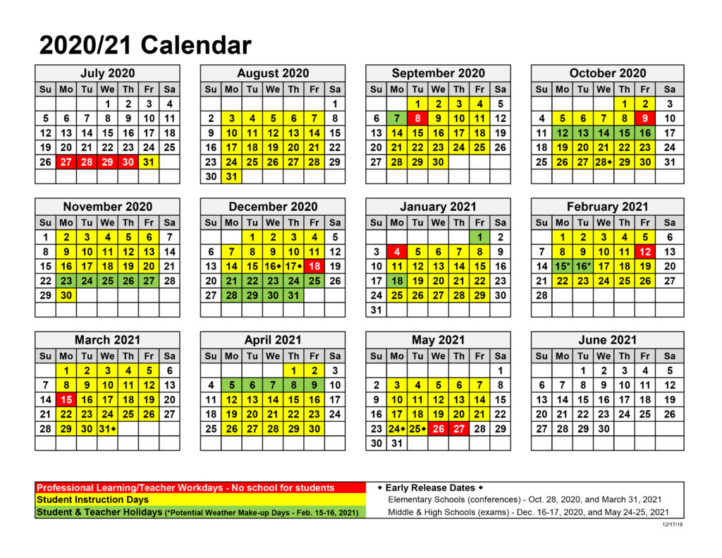 Board Approves Upcoming Calendars – North Jackson Throughout Jersey City Public School Calendar 2021 2020