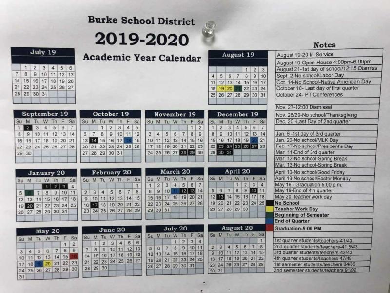 Burke Public School Pertaining To Doeschool Calendar 2014 2015