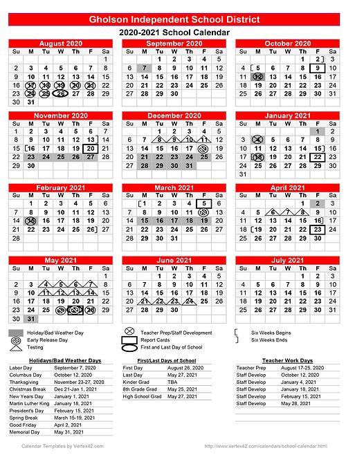 Calendar | Gholsonisd For Shelby County Al Public School Calendar 2021 2021