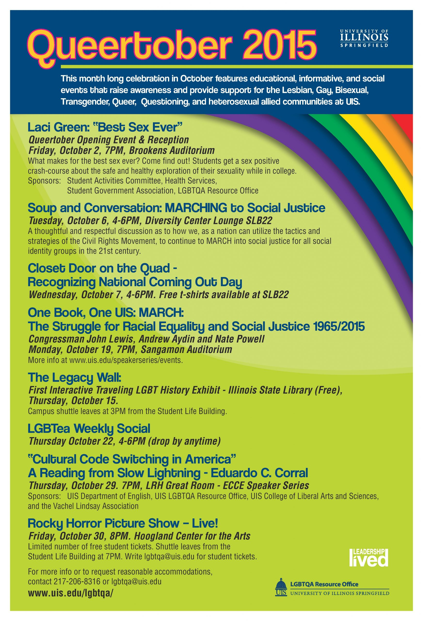 Calendar Of Events For 2015 – 2016 – Diversity Center Within Springfield Il Calendar Of Events