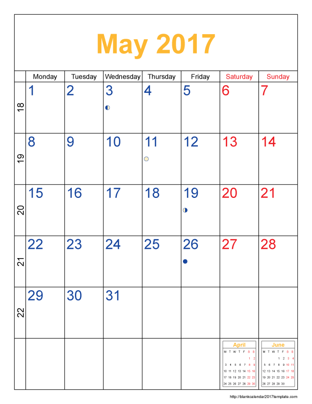 Calendar Template May 2017 – Calendar Template 2020 Intended For San Diego County Court Holiday Schedule