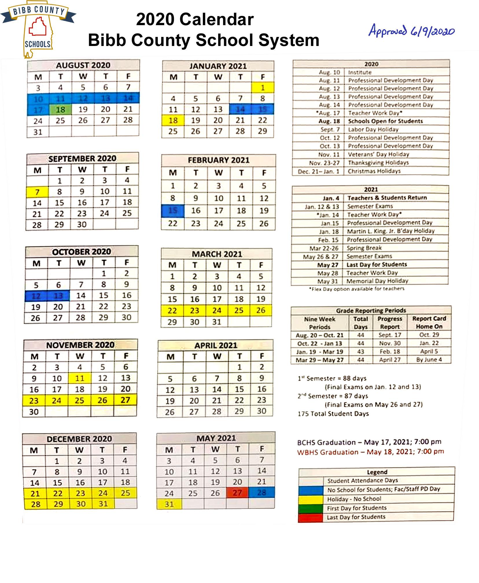 Calendar Year 2021 Department Of Education | Printable Regarding Meadowview Convention Center Schedule