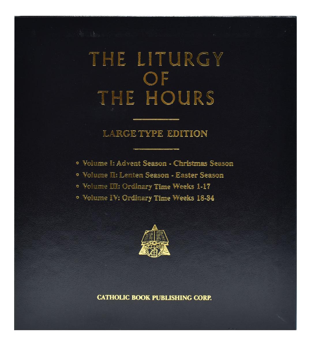 Catholic Book Publishing - Liturgy Of The Hours (Set Of 4 Inside Liturgy Of The Hours 2021 Printable