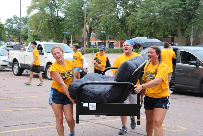 Class Of 2021 Arrives On Campus   Augustana University For Sioux Falls School District Calendar 2021 20