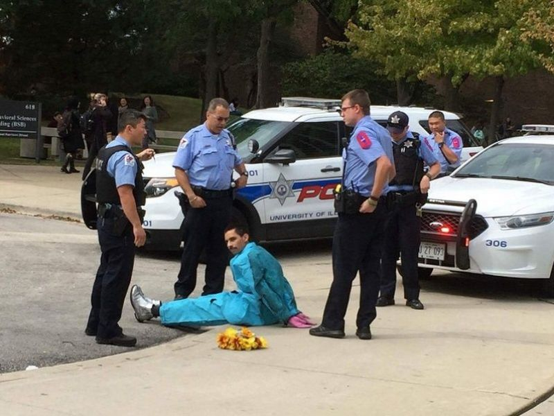 Clown On Uic Campus Turns Out To Be Performance Art | West Pertaining To Illinois State University School Calendar