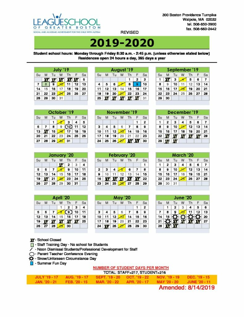 Coeur D'Alene School District Calendar   Printable For Uri School Calendar 2021 2020
