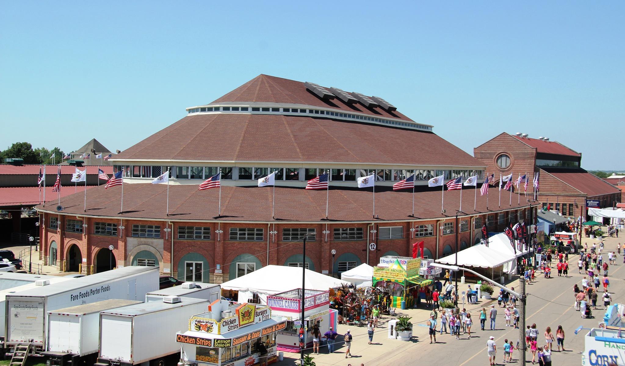 Coliseum To Remain Shuttered Through Illinois State Fair Regarding Springfield Il Calendar Of Events