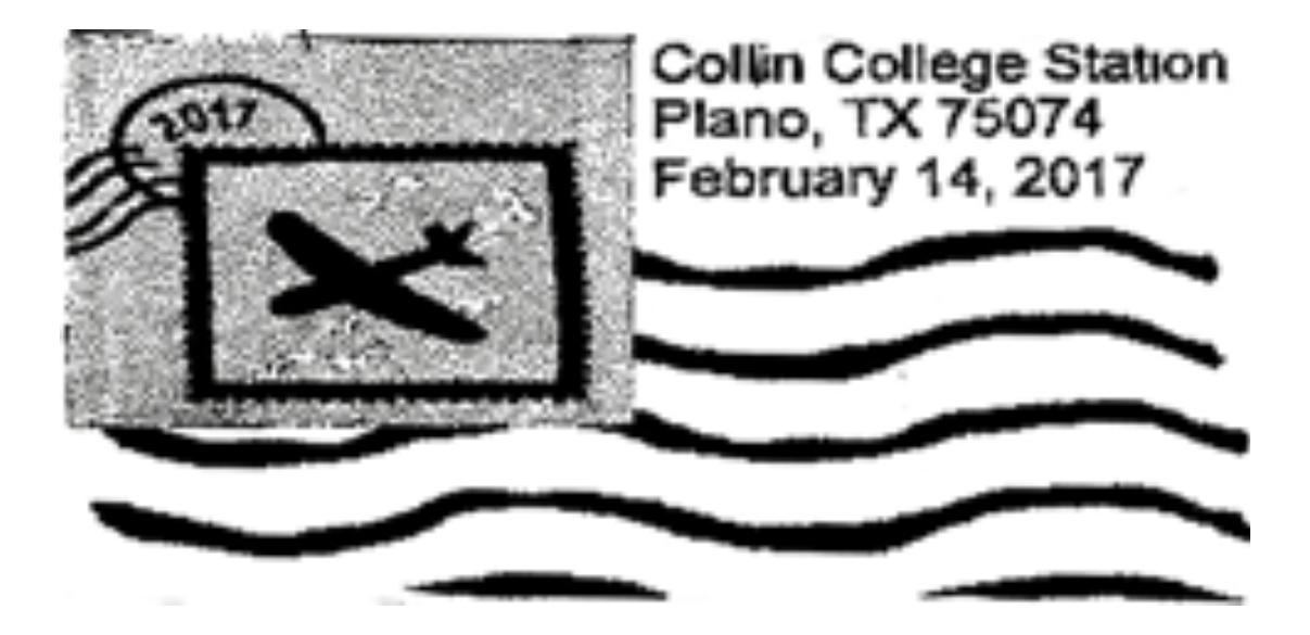 Collin College Station, Plano, Texas — 2017 02 14 With Collin College School Calendar