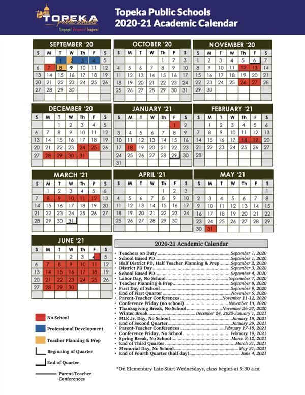 Communications / 2020 2021 Calendar (English & Spanish) In Uri Academic Calendar 2021 2020