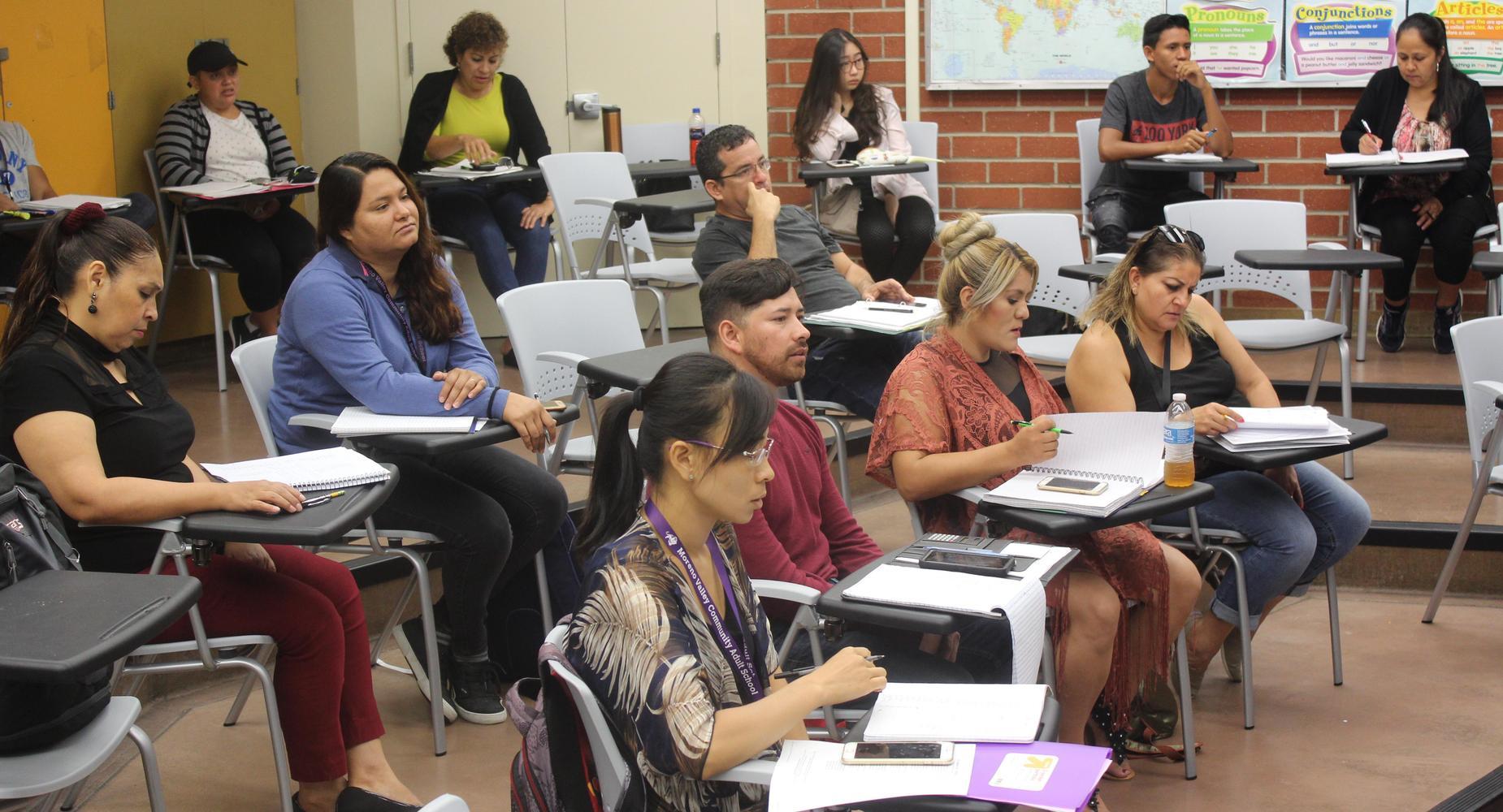Community Adult School Throughout Moreno Valley School District Calendar 2021