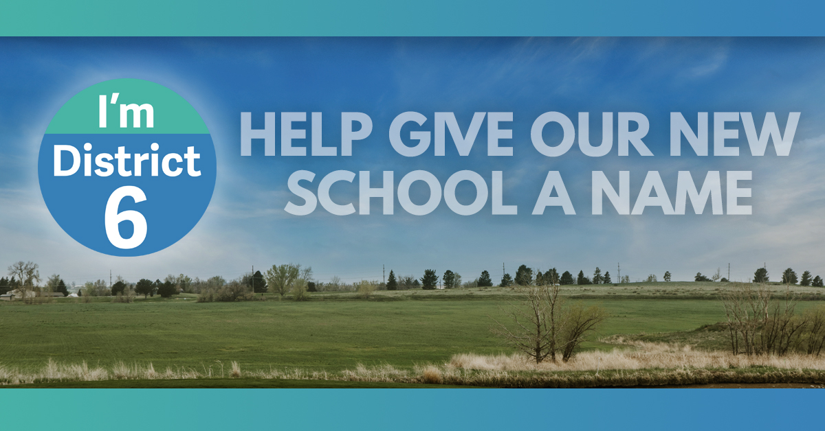 Community Asked To Submit Names For New School Throughout Jefferson County Colorado 2020 2021 School Calendar