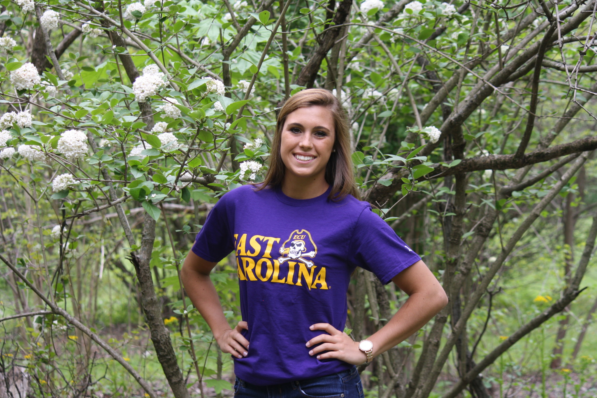 Congratulations To Senior Kayla Hudson!   Central Catholic With East Carolina Student Breaks 2021