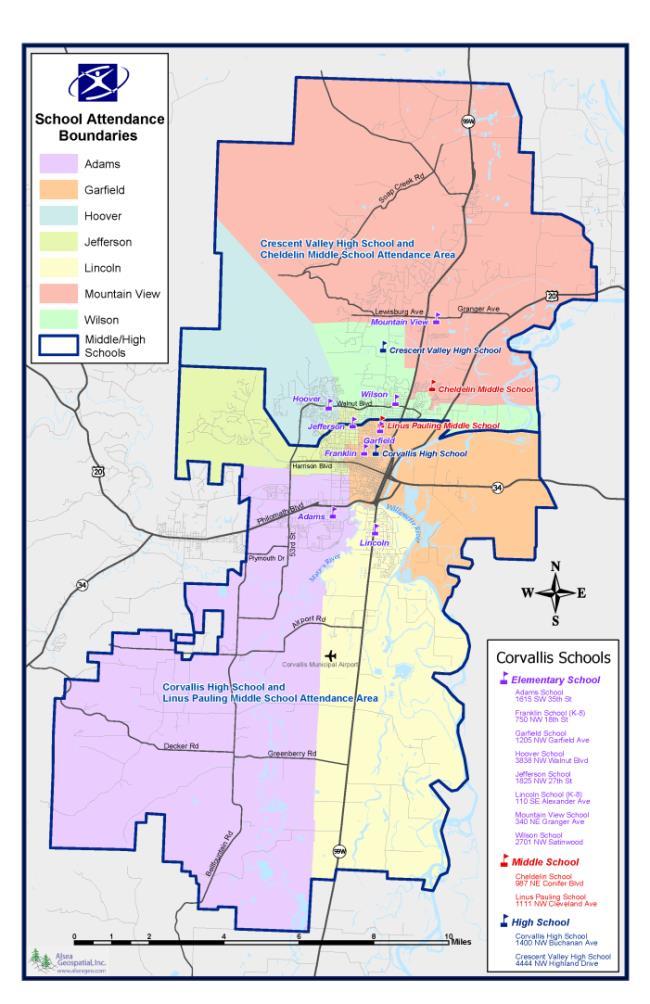 Corvallis Area Schools   Corvallis Oregon Pertaining To Deshutes County Traffic Court Schedule